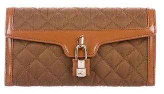 Burberry Quilted Lock Wallet