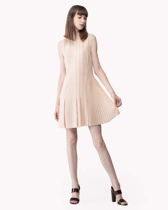 Theory (セオリー) - 【Theory】Synthetic Crepe Pleated Day Dress