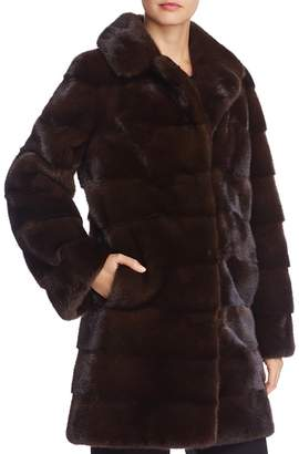 Maximilian Furs Nafa Mink Fur Coat - 100% Exclusive