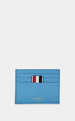 Thom Browne Men's Note-Compartment Leather Card Case - Lt. Blue