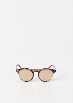 Linda Farrow tortoise / rose gold sunglasses
