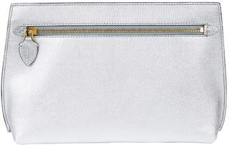 Burberry Leather Metallic Pouch