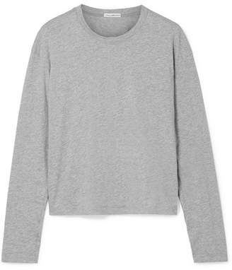James Perse Cotton-jersey Top - Gray
