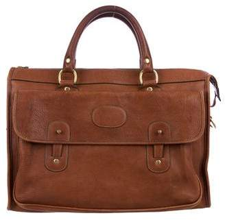 Ghurka No. 17 Leather Satchel Briefcase