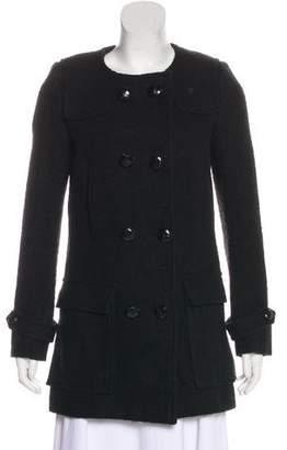 Etoile Isabel Marant Collarless Double-Breasted Coat