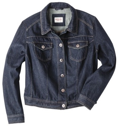 Mossimo Women's Plus-Size Denim Jacket - Assorted Colors