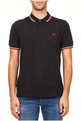 Fred Perry Twin Tipped Piqué Cotton Polo Shirt