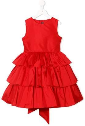 Oscar de la Renta Kids layered ruffle dress