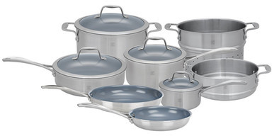 Zwilling J.A. Henckels Spirit Thermolon Coated 12-Piece Cookware Set