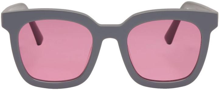 Gentle Monster Grey Finn Sunglasses