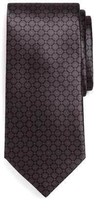 Brooks Brothers Golden Fleece Seven-Fold Micro Medallion Print Tie