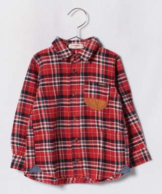 Tinkerbell 男児 チェックシャツ(100〜120cm)