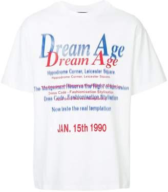 Martine Rose text-print T-shirt