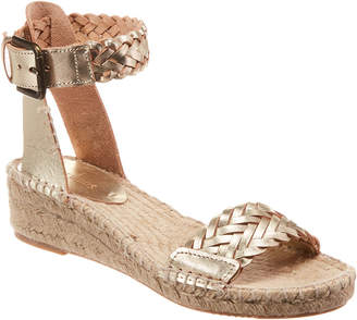 Soludos Demi Leather Wedge Sandal