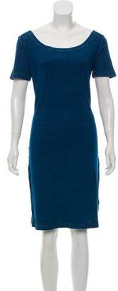 MM6 MAISON MARGIELA Short Sleeve Knee-Length Dress