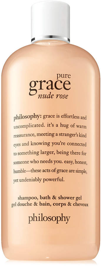 philosophy Pure Grace Nude Rose Shower Gel, 16-oz., Created for Macy's