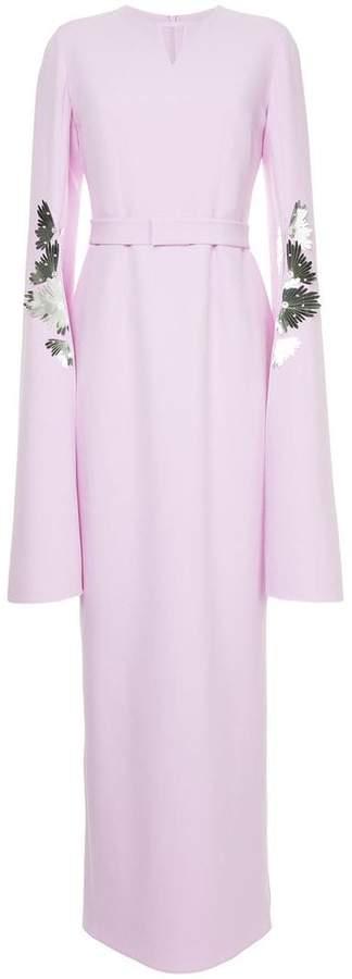 Safiyaa London bell sleeves dress