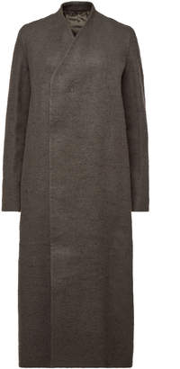 Rick Owens Museum Coat with Camel Hair and Linen