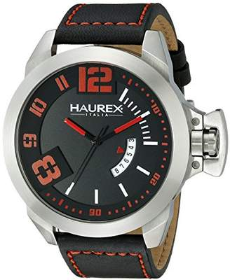 Haurex Italy Men's 6A509URN Storm Analog Display Quartz Watch