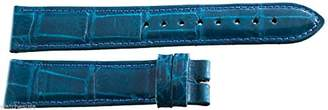 Locman Women's 18mm Turquoise Alligator Leather Watch Band Strap