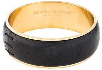 Dolce & Gabbana Snakeskin Bangle