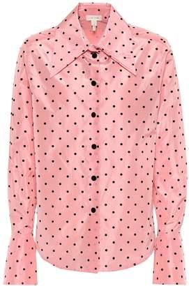 Marc Jacobs Polka-dot silk shirt