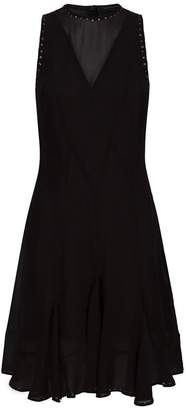 AllSaints Eleanor Stud Dress