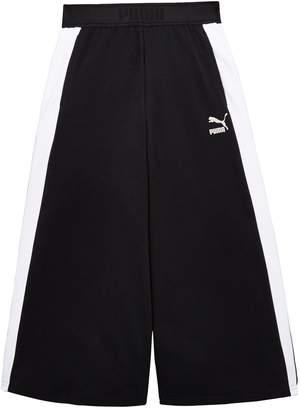 Puma Girls Classic Wide Leg Pants