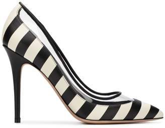 Valentino striped pumps
