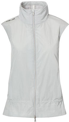 Ralph Lauren RLX Golf Nylon Mockneck Vest $165 thestylecure.com