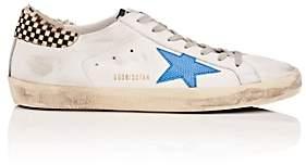 Golden Goose Men's Superstar Leather Sneakers-White