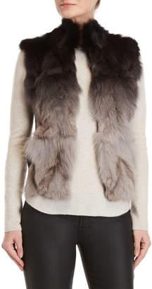 Adrienne Landau Real Fur Fur Vest