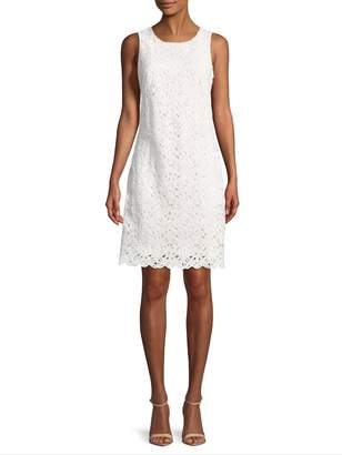 Karl Lagerfeld Women's Lace Shift Dress