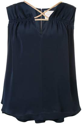 Roksanda sleeveless V-neck blouse