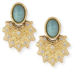 Armenta Old World 18k Starburst AquapraseTM Stud Earrings