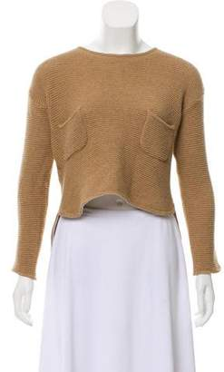 Marni Long Sleeve High-Low Sweater