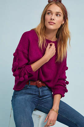 Molly Bracken Lili Sidonio x Winterberry Pommed Sweater