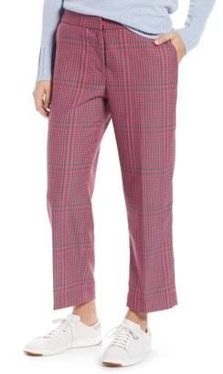 1901 Straight Leg Plaid Pants (Regular & Petite)