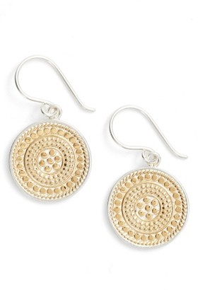 Women's Anna Beck Circle Drop Earrings $185 thestylecure.com