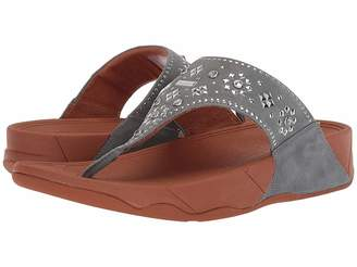 FitFlop Lulu Aztek Stud Toe-Thong Sandals - Suede Women's Sandals
