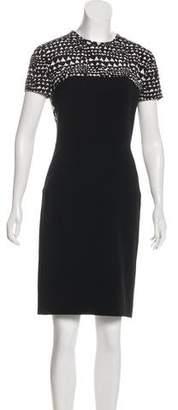 Stella McCartney Short Sleeve Shift Dress