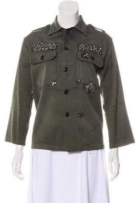 Figue Embellished Military Jacket