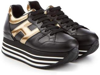b1d7c99d416c Hogan Leather Sneakers with Platform