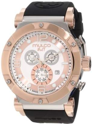 Mulco Unisex MW5-1623-021 Nuit Track Chronograph Swiss Movement Watch
