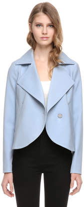 Soia & Kyo ELLIE straight fit blazer with large collar and lapel