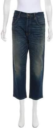 6397 High-Rise Straight-Leg Jeans w/ Tags