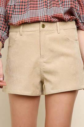 Umgee USA Corduroy shorts