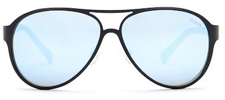 GUESS Women&s Metal Sunglasses $84 thestylecure.com