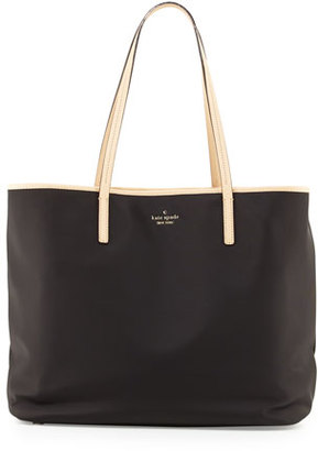 Kate Spade New York Classic Nylon Harmony Baby Bag, Black $298 thestylecure.com