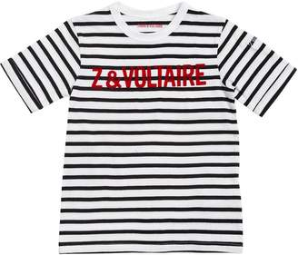 Zadig & Voltaire Striped Cotton Jersey T-Shirt
